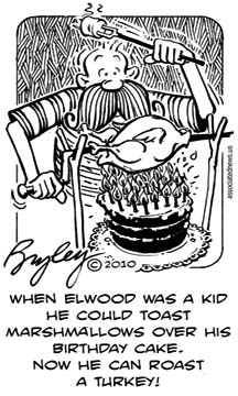 funny cartoons by Elwood