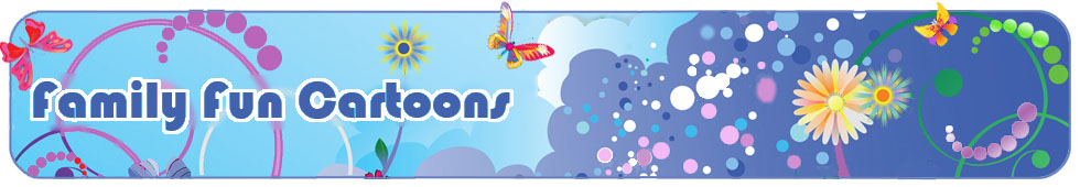 family fun cartoon header