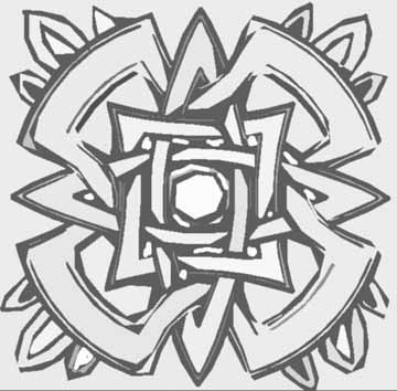 free abstract coloring pages