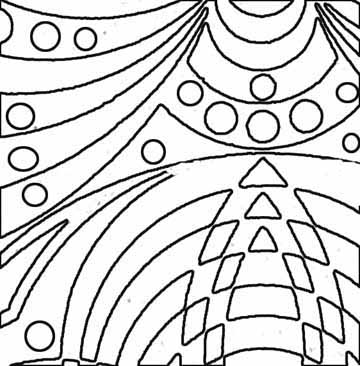 free printable abstract coloring pages - Free Abstract Coloring Pages