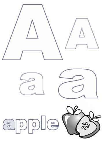Al/alphabet Animals Coloring Pages
