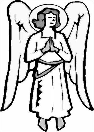 Angel Coloring Pages For All Kids Creative