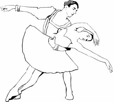 Ballet Dance Coloring Pages