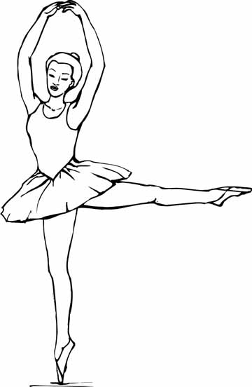 New ballet coloring sheets you are going to be creative for Printable dance coloring pages