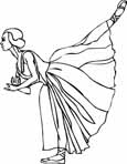 free ballet coloring sheets