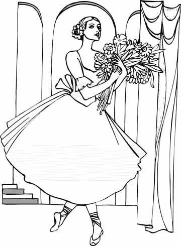 New Ballet Coloring Sheets You Are Going To Be Creative ...