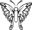 funny butterfly coloring sheets
