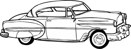 Car Coloring Pages For Kids Who Love Cars