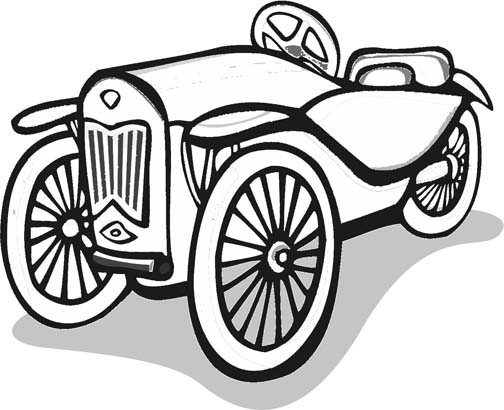 Coloring Pages Model T Ford : Car coloring pages for kids who love cars!