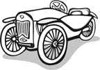 printable car coloring page