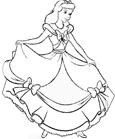 cinderella coloring pages