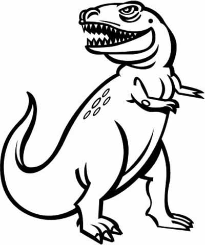Dinosaur Coloring Pages Crayon or paint these big