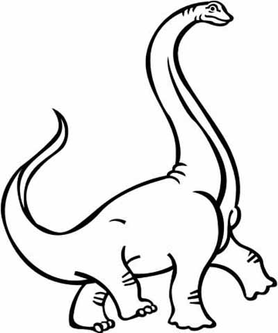 Dinosaur coloring pages crayon or paint these big for Printable coloring pages dinosaurs
