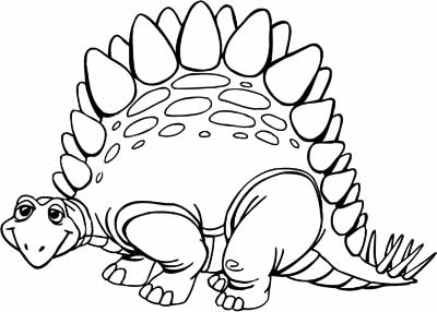Dinosaur Coloring Pages - Crayon or paint these big handsome brutes!