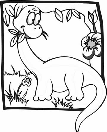 Dinosaur Coloring Pages on Dinosaur Coloring Pages   Crayon Or Paint These Big Handsome Brutes