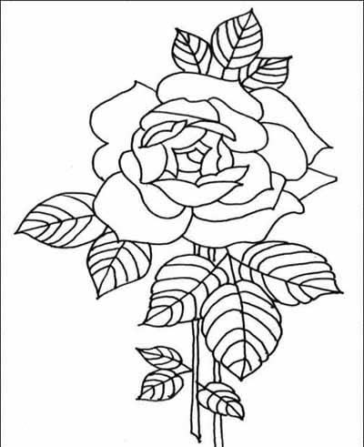 flower coloring pages - Coloring Stuff