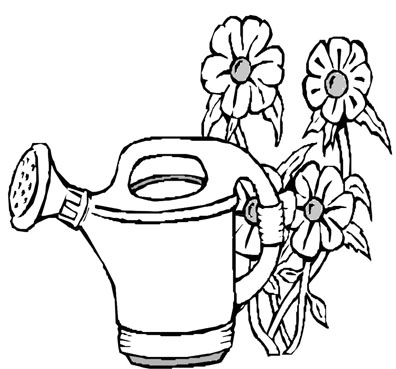 printable flower coloring pictures