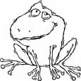 frog coloring pages