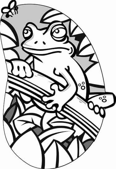 cartoon frog coloring pages - photo#42