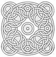 rose geometric coloring pages