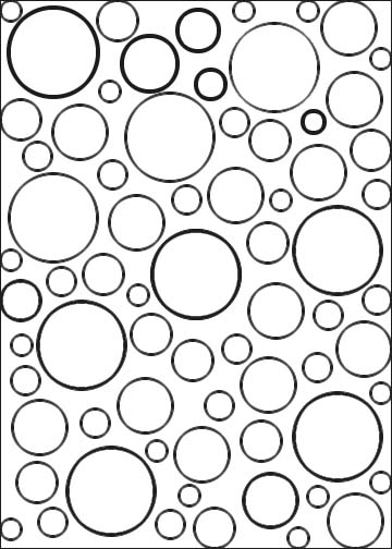 circle pattern coloring pages geometric coloring pages make them fresh and colorful