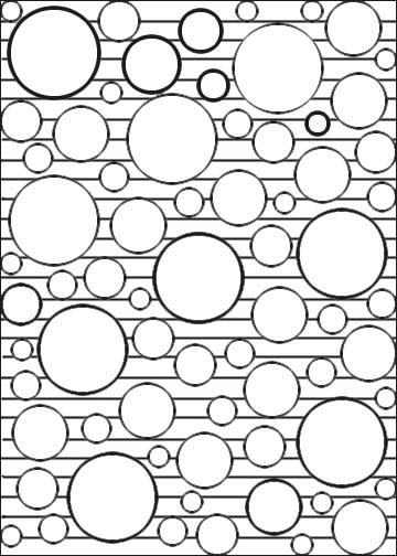 circle abstract coloring pages - photo#18