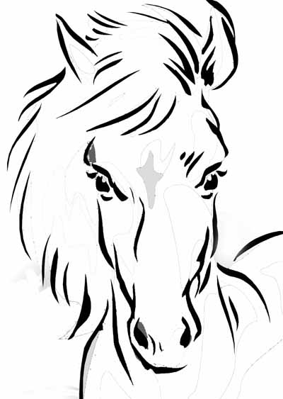 Horse Coloring Pages For Young Equestrian Enthusiasts