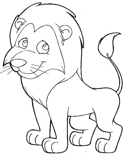 coloring pages mountain lion - photo #40