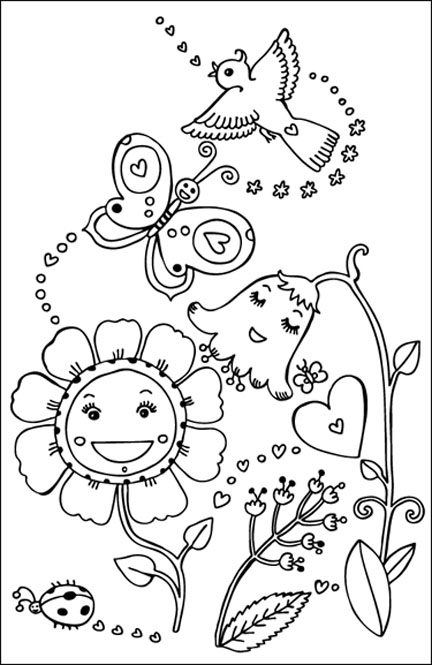 precious moments coloring pages cow - photo#28