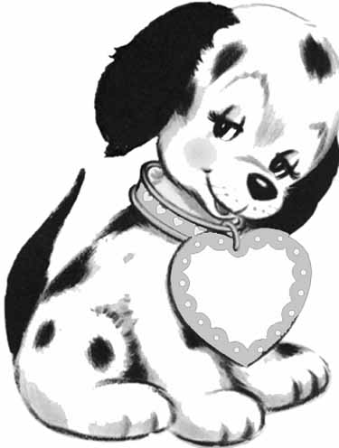 puppy coloring sheets on free puppy coloring pages