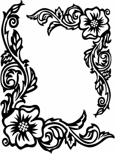 rose art coloring pages - photo#46